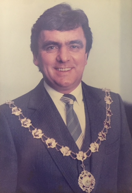 Hefin Williams - First Mayor of Newcastle Emlyn 1986/87, 1993/94