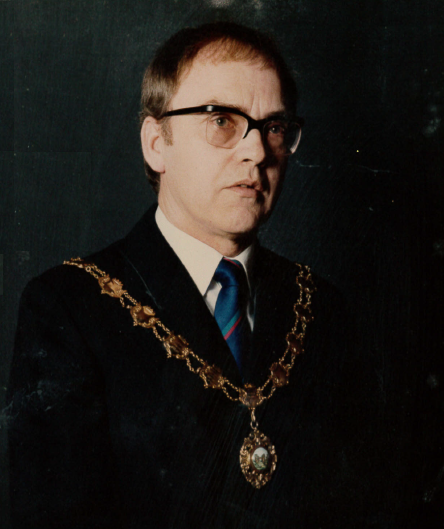 Owen Hesford - Mayor 1989/90, 1994/95, 1998/99