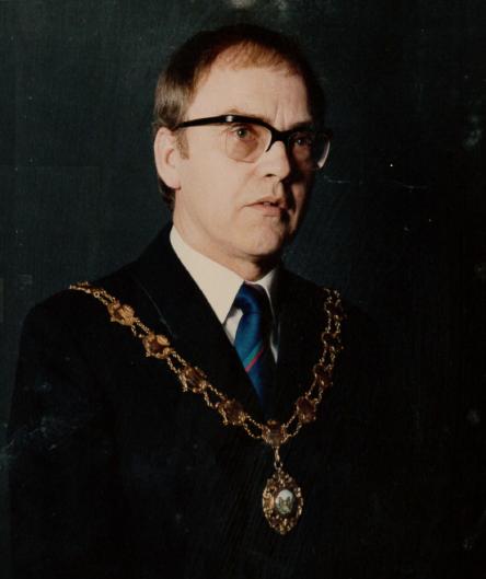 Owen Hesford - Mayor 1989/90, 1994/95, 1998/99