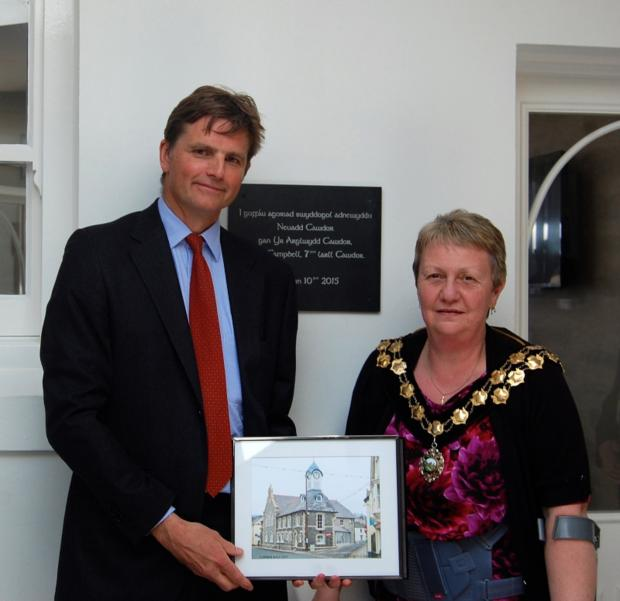 Earl Cawdor officially opens refurbished Cawdor Hall